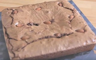 Brownie chocolat huile d'olive