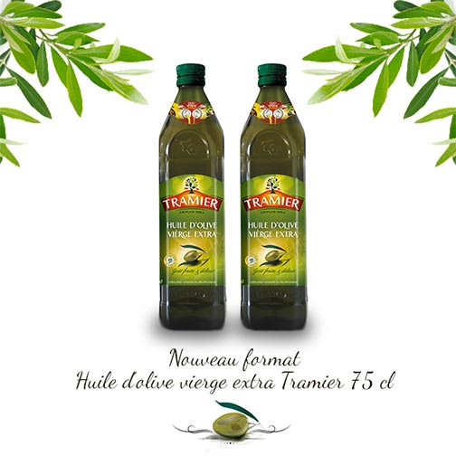 Bouteille huile d'olive 75 cl