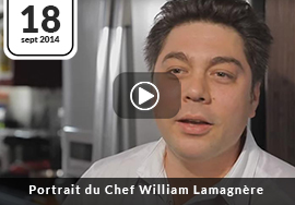 Portrait du Chef William Lamagnère