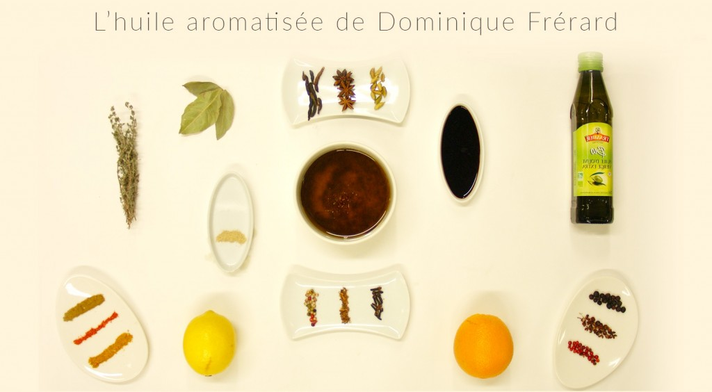 Recette_dominique_frerard_huile_olive_aromatisee_Tramier_seize_ingredients
